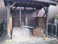 寺町の金比羅神社のポンプ