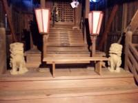寺町の金比羅神社の狛犬